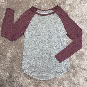 American Eagle Gray Soft & Sexy Plush Top SM